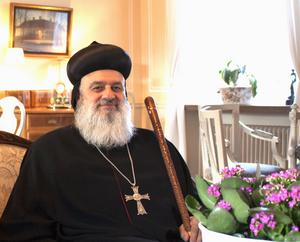 Syrisk-ortodoxa kyrkans patriark Ignatius Aphrem II.