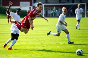 Gabriel Gyllenvåg gjorde en stark säsong i division 2. En säsong som också blev hans sista i Falu FK. Åtminstone för den här gången.