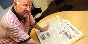"""Jan-Erik """"Bolle"""" Eriksson började sin SA-karriär som typograf 1964. Han har även jobbat som redigerare, och sport- och kommunreporter för SA men även en tid på VLT. """"På 1980-talet var jag nyhetschef, 1990-talet redaktionschef och 2000-talet fram till 2009 chefredaktör"""", sammanfattar han det."""