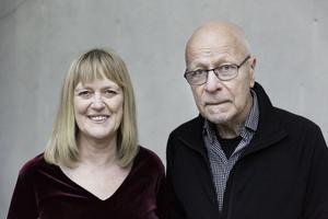 Brottsofferjourens generalsekreterare Eva Larsson ochförbundsordförande Sven-Erik Alhem. Foto: Therese Wiberg /BOJ