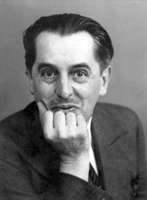 Den franske författaren och akademiledamoten Jean Paulhan 1938. Foto: Okänd