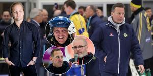 Efter fyra år slutar Svenne Olsson som förbundskapten. Bild: Adam Ishe (TT) / Peter Axman / Oliver Åbonde / Andreas Tagg