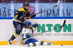 Wilma Johanssons Leksand blev överkört i premiären. Foto: Daniel Eriksson (Bildbyrån).