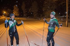 Maria Carling och Lotta Nordgren.