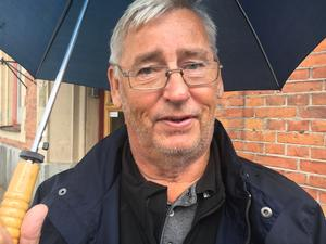Ulf LeMoine, Hallstavik, 72 år: – Jag tycker det är fint. Det är lite dyrt bara.
