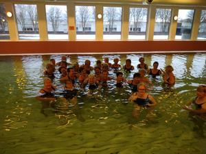 Sista badet på Tunet. Foto: Barbro Lindroth