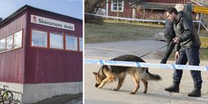 Skolan bedriver verksamhet som vanligt – trots misstänkta mordet i närheten.