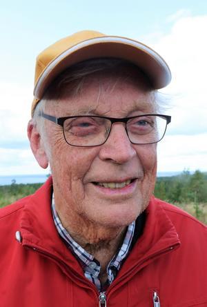 Per-Mårten Eriksson, 85 år,  hann själv