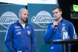 Mattias Sjöholm och Elias Gillgren. Bild: Fredrik Sandberg (TT)