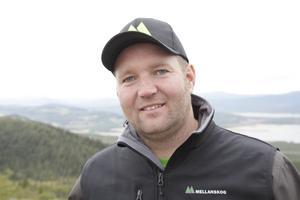 Magnus Westfält från Vemhån är vice ordförande i föreningen Mellanskog.