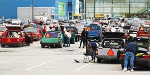 Foto: Marcus Titus. Personerna på bilen har inte gjort något brottsligt.