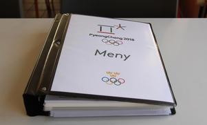 Den heliga pärmen. Här i finns all information om vad, hur och när åkarna ska äta under OS.