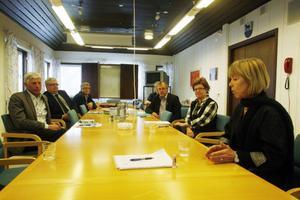 Barbro Holmberg inhämtade synpunkter från både kommunalrådet Stig Eng (C) och kommunchef Kerstin Oremark.