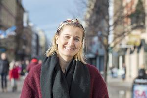 Erika Hällström, 32 år, rekryterare och konsultchef, Alnö: