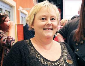 Ingela Käck Brolund, rektor för Östra skolan i Hudiksvall.