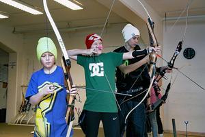 Under flera år har intresserade kunnat testa bågskytte under sportlovet i Centrumhuset i Edsbyn.