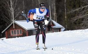 Ebba Andersson hade en bra känsla i kroppen hela vägen.