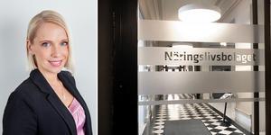 Anette Bergman, som hoppat in som vice vd på Näringslivsbolaget i vår, hoppar nu av uppdraget efter två månader. Bilder: Mitthem och Filip Gustafsson Högman.