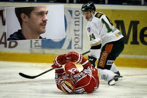 I kväll spelar Kyle Flanagan mot Färjestad för första gången sedan tacklingen från Jesper Jensen.