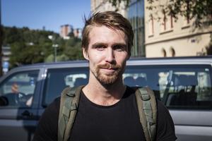 Rasmus Kile, 24, kommunikatör, Sundsvall.