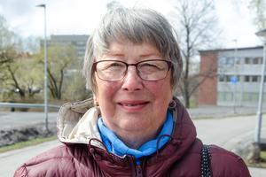 Christine Gårdeler, 72. pensionär, Alnö: