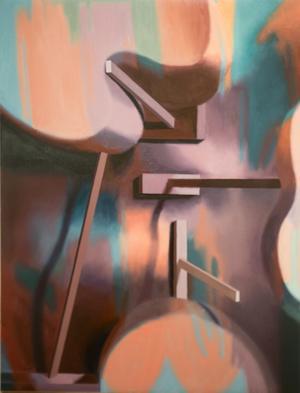 Målning av Gisle Utgarden.
