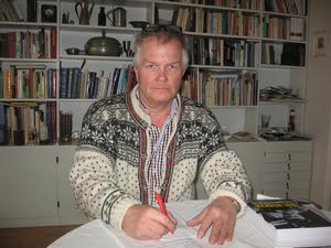 Per-Ola Björklund är tillbaka i Tyngsjö. Foto: Privat
