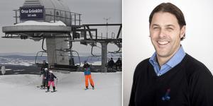 Johan Larsson blir ny anläggningschef i Grönklitt. Bilden är ett montage. Foto: Arkivbild/Grönklittsgruppen