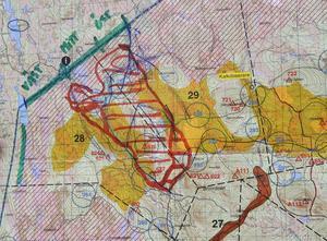 3700 hektar skog drabbades av skogsbranden på Älvdalens skjutfält.