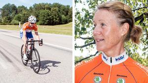 Cykling är en bra och skonsam motionsform anser Marie Cederberg.