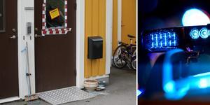 Den misstänkta mannen nekar till brott. Fotomontage: Tea Oscarsson/TT