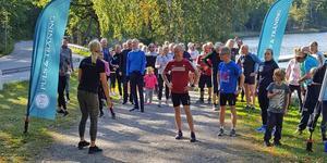 Run of Hope drog in 12 000 kronor till Barncancerfonden. Foto: Privat