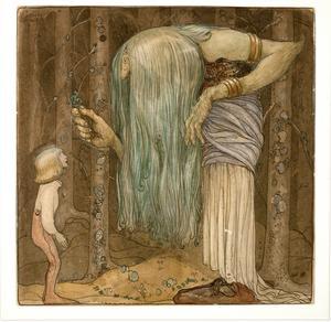 John Bauer illustrerade
