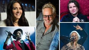 Molly Sandén, Joakim Thåström, Uno Svenningsson, Markus Krungegård och Amanda Fondell är fem av de åtta artisterna som offentliggjordes i det första artistsläppet som Peace & Love-festivalen gjorde på torsdagen.