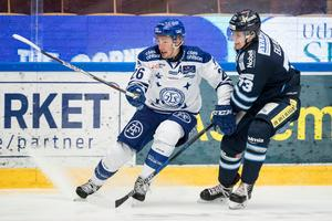 Patrik Norén och hans Leksand besegrade Rasmus Bengtssons BIK. Bild: Daniel Eriksson/Bildbyrån