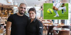 Ahmad Shalak och Emma Sundberg sammanfattar ett år sprängfyllt med evenemang  och berättar om framtiden, som innehåller en hel del fotboll. Foto: Felicia Andersson, Claudio Bresciani/TT.
