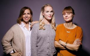 Klimatklubben grundades av Emma Sundh, Maria Soxbo och Johanna Nilsson hösten 2018. Foto: Emily Dahl