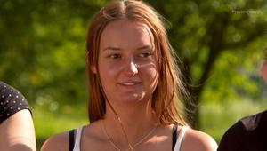 Cecilia Pettersson från Avesta fick också följa med hem till Oscars gård. Foto: TV4