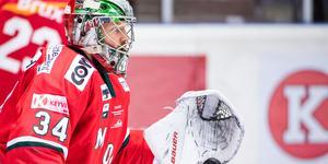 Erik Hanses gjorde ett bra inhopp mot Vita Hästen och får nu chansen från start. Bild: Erik Mårtensson/Bildbyrån