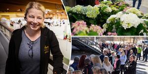 Maria Spring är mässgeneral för Medelpads trädgårdsmässa och berättar att i år har man satsat ännu mer på temat skörda och koka.