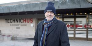 Fred Nilsson, ordförande i  Technichus, ser detta Härnösands Science Center som en modern källa till lärande och kunskap.