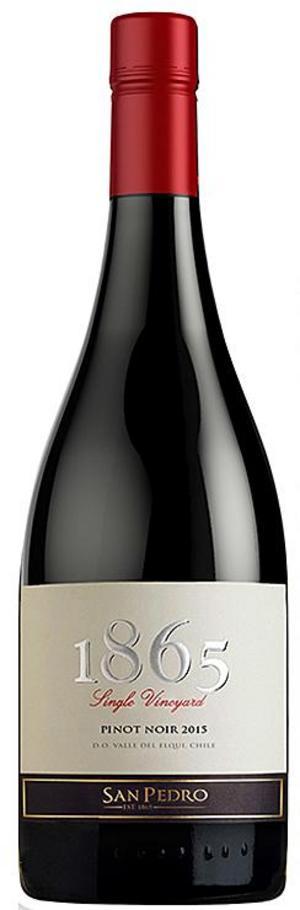 1865 Pinot Noir Viña San Pedro 2015.