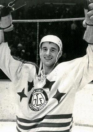 Roger Lindqvist vann fyra SM-guld med Leksand. Foto: DD:s fotoarkiv