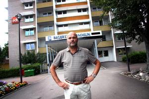 Förbundschef. Harold Nilsson, NKV, påpekar att det har satsats pengar på Sockenstugan. Omkring 50000 kronor kostade det att byta ut va-ledningar på tomten 2012, berättar han.