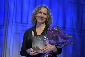 Bild: Pontus Lundahl/TT.  Marit Kapla tog hem Augustpriset i den skönlitterära kategorin med sin bok