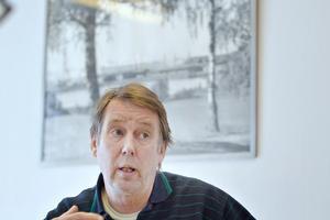 Timo Viiperi, ordförande i IF Metalls järnbruksklubb.