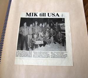 Resan till USA var en mycket stor upplevelse för hockeykillarna.