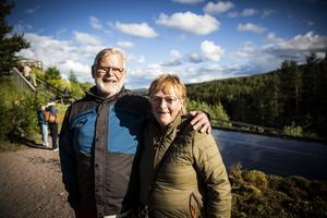 Gösta Elofsson och Anne-Marie Elofsson från Gammelänge hade redan sett föreställningen förra året, men tyckte att den var värd en vända till.