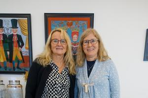 Marina Jonsson och Leena Oscarson.