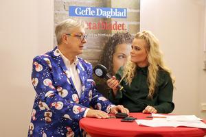 Amelia Mauritzon, sportmedarbetare, var programledare för Gefle Dagblads och Arbetarbladets gemensamma live-tv-sändning där bland andra Lars-Åke